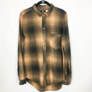 Urban Outfitters | Brown Flannel Shirt NWOT